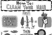 Hair Stare / styles, tutorials