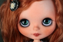 [Les Belles Filles] / Blythe dolls. / by Flor de Ciruela