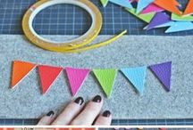 DIY Stylefix / It's double sided tape, especially for fabrics. Adhere instead of pinning!                     More at www.farbenmix.de