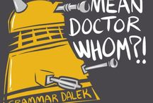 Doctor Who / General Doctor Who stuff, multiple doctors, Nine, and some classic / by Allison Ryan