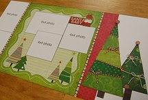A Scrapbook Merrie and Bright / Christmas Scrapbook pages / by RedWood