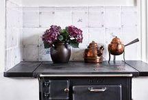 En la cocina / El espacio para cocinar, los ingredientes y recetas