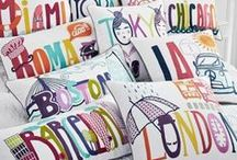 Pillows / Happy pillows - for a happy home :)