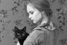 [Cat Lady Prrr... <3] / Cats & their lady pets. / by Flor de Ciruela