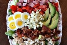 Salad Recipes {and Dressings too} / I LOVE SALAD! / by Hugs4Chris