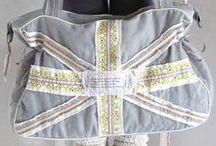 Taschen nähen / Einfache und schnell genähte Taschenschnittmuster von farbenmix. Von kleiner Umhängetasche, über Shoppingtaschen, Weekender und Rucksäcken
