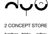 2conceptstore / a new spot in town , where furniture , a lounge area and a gallery come together