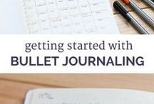 Journaling / Bullet Journal ideas, inspiration and tips