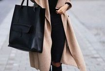 Clothes / Dress, jeans, sweater.