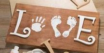 My Addiction To Baby Feet / Art & craft ideas for baby hand & footprints