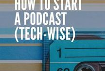 Podcaster Inspiration / If you want to learn how to make a podcast, follow this board! It is full of pins about how to podcast, how to monetize your podcast, what kind of equipment you need to make a podcast, and more!