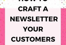 Blog Newsletter and Opt-in Tips / Ideas and tips for a blog Newsletter