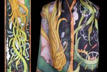 My silk scarves on Etsy / Hand painted silk scarves