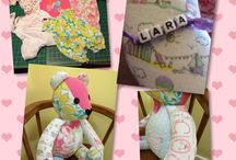 """BABY & TODDLER GIFTS / Thank you for clicking on over, this is  my board for """"BABY & TODDLER GIFTS"""" board & I have created all the handcrafted personalised patchwork quilts & cushions, memory bears & fleece soft toys that you see on this board. Click on to my bio & you will see the link to my Etsy shop CraftHillArtisans. It is also a great place for Etsy Shop owners to share their work & repin their work of fellow seller.  *** For an invite to this board; Please follow the board & comment your wish to join on a post***  The Rules are simple. 1: Pin should preferably lead to an Etsy listing. 2: Nothing vulgar or obscene. 3: NO DAILY LIMITS.....PIN, PIN PIN AWAY.  #crafthillartisans The Rules are simple. 1: Pin should preferably lead to an Etsy listing. 2: Nothing vulgar or obscene. 3: NO DAILY LIMITS.....PIN, PIN PIN AWAY. #babyshower #babygift #newbaby #toddlergift #personalisedgifts #aromatherapy"""