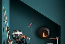 Hip Hearths / Fire place ideas for when the cold nights creep back into your homes