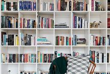 """Bookshelves / """"A room without books is like a body without a soul"""" - Cicero"""