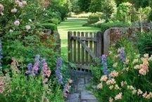 French garden love