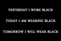 Style in BLACK / by Monica Jones (Mier y Teran)
