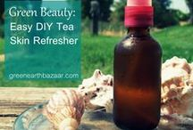 DIY Natural Beauty / #DIY #natural #beauty recipes and tips for safe, effective, #homemade skincare. / by Green Earth Bazaar