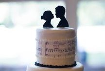 My actual wedding. / Time to give back ideas to Pinterest instead of steal them all the time. :)