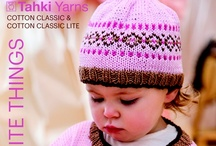 Pattern Collection: My Favorite Things / A new pattern collection from Tahki Yarns to showcase your favorite cotton yarns, COTTON CLASSIC & COTTON CLASSIC LITE Click on any image once, then once again to open in a new window and zoom in on details. No more squinting at blurry, low-res images of knitwear!