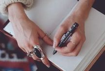 Art Journals / Ideas and Inspiration for journaling