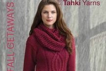 Pattern Collection: Fall Getaways / Tahki Yarn's Fall 2013 knitting pattern collection. For high definition views, click any pin once to open in a new window, then once again for a zoomable view!