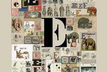 """Letter E / E as in """"ear"""" / by Beth Kahler"""