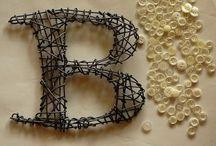 "Letter B / B as in ""boy""  / by Beth Kahler"