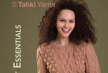 Pattern Collection: KNIT ESSENTIALS / Tahki's Fall knitting pattern collection is now live! Click any image once, then once again to open in a new, zoomable window for high-resolution views!