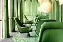 Modern Color Inspiration: Green / Just when we thought green was tough to pull off, these fresh and lively examples have us itching to go down the green road. / by 2Modern