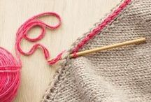 Knit & Crochet Tips & Tricks / Discover great techniques, expert tips, and useful information from knitters and crocheters in our community.