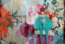 Art I Heart / Art, Photography, Prints, Paintings, Mixed Media ... lots of fun wall decor ideas!