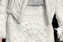 Trend Watch: Crochet Fashion / Crochet is super hot for spring and summer fashions. Inspire your knit and crochet-wear!!
