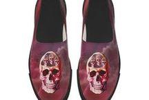 Women: Slip On Shoes / ZIPZ® shoes. Slip-on canvas shoes, Unusual Slip-on canvas shoes, Slip-on microfiber shoes.