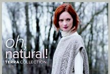 Oh, Natural! Terra Fall 2016 Collection / The Oh, Natural! collection features 10 garments & accessories in Tahki Yarn Terra's selection of eco-friendly, all-natural yarns.