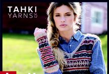 Knit Country Fall 2016 Collection / Tahki Yarns' new Fall 2016 collection, Knit Country, evokes a classic, comfortable fashion sensibility, employing traditional knitting techniques and casual silhouettes to create a timeless aesthetic.