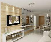 Decor / Decorações de apartamento e casa para todos os gostos. Estilo mais clean e amplo .