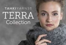 knit.wear WOOL STUDIO Presents The Terra Collection / Carefully curated by the WOOL STUDIO editorial team, this collection comprises 11 rustic styles to handknit in Tahki Yarns' eco-friendly TERRA COLLECTION yarns including must-have outerwear, sweaters and accessories.
