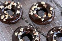 Donuts / Doughy, sugary and, sometimes, chocolate frosted, when you sink your teeth into a freshly-made doughnut it tastes like pure joy. Especially when they're homemade!