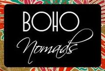 The Boho Nomads / For lovers of bohemian nomad lifestyle. #nomad #digitalnomad #boho #bohemian #fashion #design