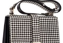 houndstooth   / art fashion and décor in   houndstooth   black and white  ღ
