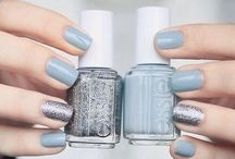 silver   blue / color board   art • fashion • décor in blue and silver