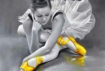 colour splash   yellow / colour board   art • fashion • decor in grey   touch of yellow
