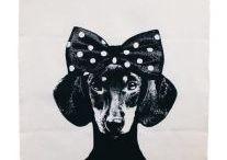 polka dot   black / art • fashion • décor in black and white polka dot