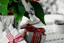 colour splash   red green christmas / colour board   art • fashion • decor in grey   touch of christmas red and green