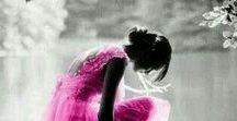 colour splash   fuchsia / colour board   art • fashion • decor in grey   touch of hot pink   raspberry