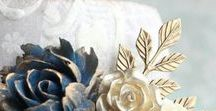 navy   tan / colour board   art • fashion • decor in blue and tan