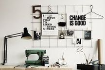 creative workspaces. / workspace inspirations.