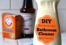 Homemade: Cleaners & Cleaning Tips/Tricks / by Heather Beckley